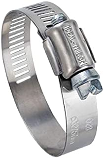 Ideal Tridon 6710651 316 Stainless Steel Clamp, 67-6 Series' Marine Grade, 1/2