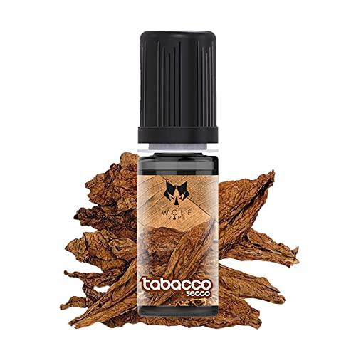 WOLF Aroma T.abacco Secco 10ml (singola unità) Aroma Concentrato da diluire