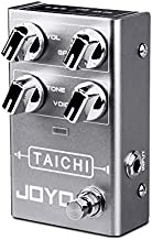 JOYO Tai Chi R-02 R Series Low Gain Overdrive Pedal Smooth Overdrive Sound of Classic Dumble Amp for Electric Guitar Effect (R-02)