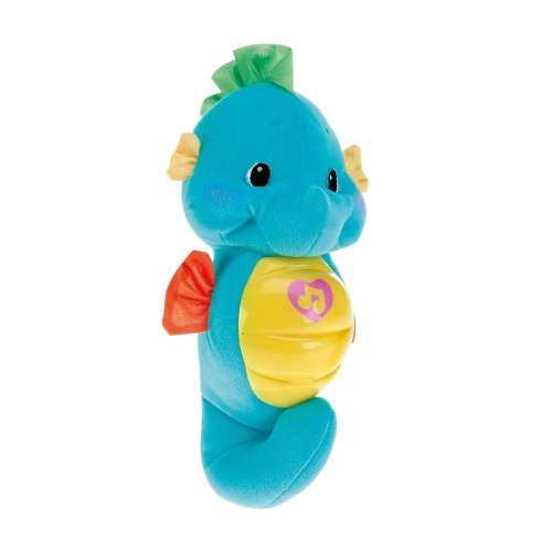 Fisher Price - Caballito De Mar Dulces Sueños Azul (Mattel M8581)