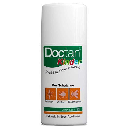 Doctan® Lotion für Kinder ab 6 Mon. – bis zu 12h Schutz vor Mücken, Zecken, Stechfliegen, Malariaprophylaxe, Zika-Virus