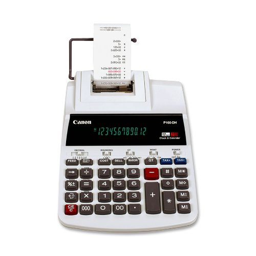Price comparison product image Canon P160-DH Color-Printing Calculator (0719B002AA)