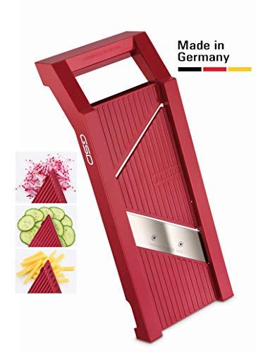 GSD 30011 G S D Universal 30 011 Gemüsehobel, Stahl, rot