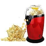 Sotech - Machine a pop corn,Appareil pop corn,Machine à Popcorn professionnelle, Air Chaud sans Huile Popcorn Maker Sans BPA idéal pour Regarder des Films et Tenir Fêtes en Maison, Rouge