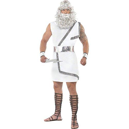 NET TOYS Traje de Zeus Disfraz Dios Griego Vestuario