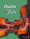Duets for Fun: Violins: Original works from the Renaissance to the Romantic era. 2 Violinen. Spielpartitur.
