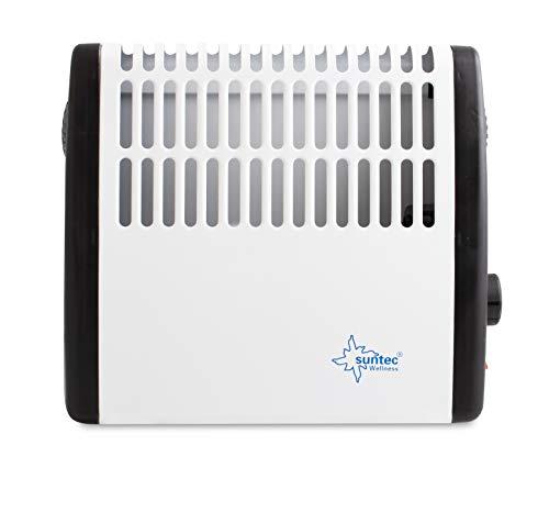 SUNTEC Frostschutz Konvektor Heat Protect - Frostwächter, 500 Watt | Automatische Temperaturüberwachung bis 25 m³ (~ 10 m²) für Überwinterungszeit | Perfekt für Werkstatt, Garage, Gartenhaus
