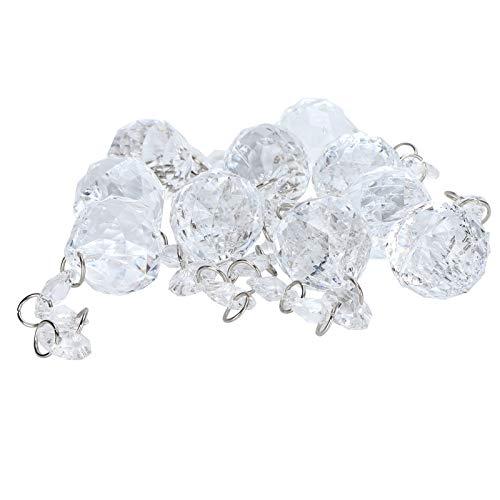 Pendentif d'éclairage, pendentif en cristal de décoration de lampe de perle pour le mariage pour la décoration d'arbre de Noël pour le lustre pour la chambre de bébé
