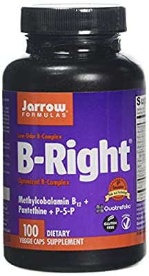 Jarrow Formulas B-Right - 100 Vcaps, 100 Capsules