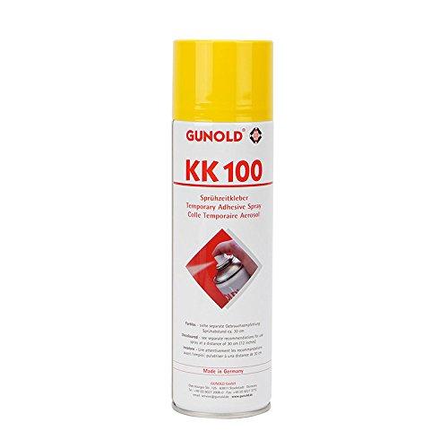 Gunold Sulky Sprühkleber KK 100 500 ml | Allroundtalent für Patchwork-, Näh- und Stickarbeiten | Fixiert Applikationen und Stoffe