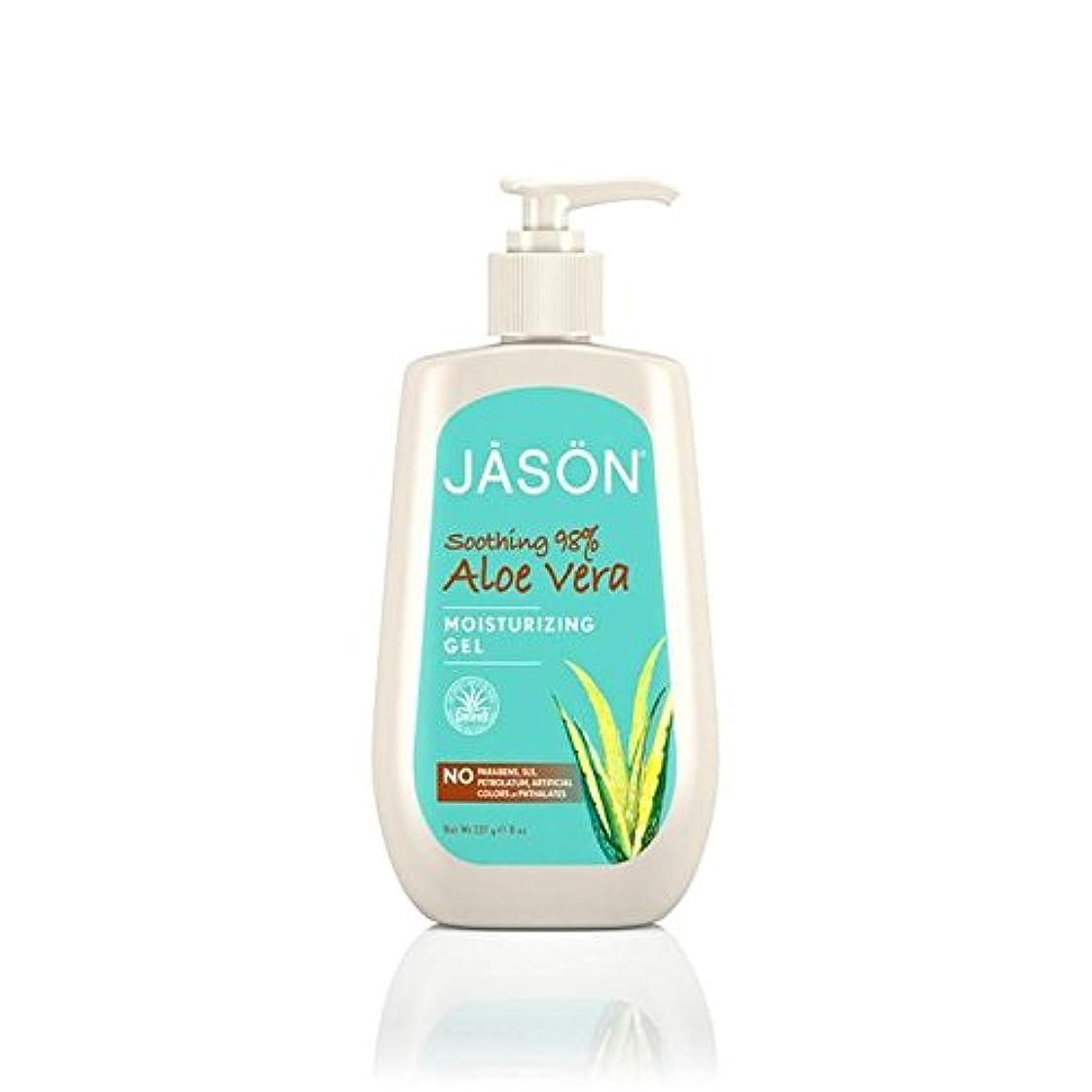 切り離すチチカカ湖ナチュラルJason Aloe Vera 98% Moisturising Gel Pump 240ml (Pack of 6) - ジェイソンアロエベラ98%保湿ゲルポンプ240ミリリットル x6 [並行輸入品]