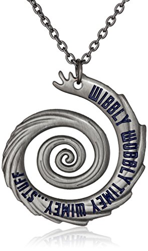 Doctor Who Wibbly Wobbly Timey Wimey Pendant Necklace