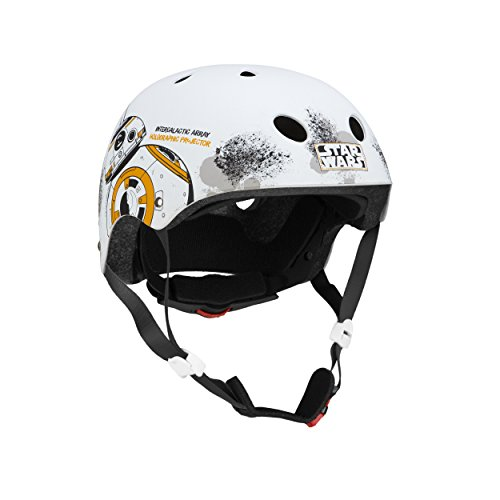 Disney Kinder Skate helmet STAR WARS BB8 STAR WARS 2, Mehrfarbig, M