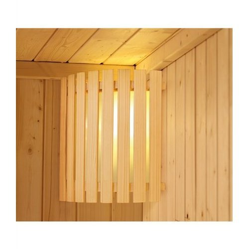 Karibu Woodgarden Nettoabrechnung Wellness -  Saunaleuchte Modern
