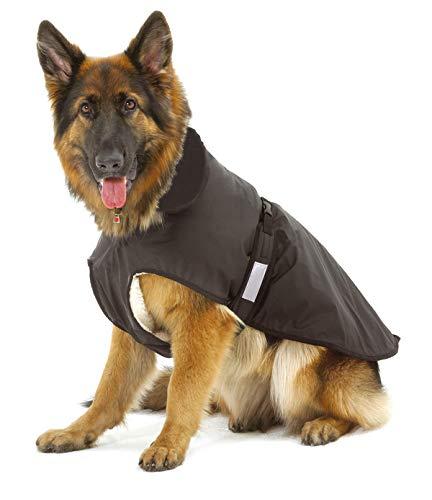 Karlie 16180 Abrigo para Perro con Lana Interior 2 en 1, 60