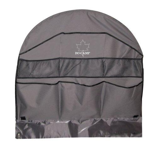 Radauschnitttasche, rund mit 6-fach Organizer mit 3 kleinen Netztaschen Radauschnitttasche Funktionelle Abdeckung der Radschürze durch Ösen kann die Radauschnitttasche richtig eingesetzt werden
