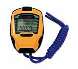Cuzit Stopwatch Timer 3 Rows 100 Laps professional stop watch Outdoor Sports Handheld Digital Counter Timer Cronometro