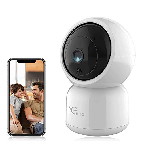 Wireless Cameras for Home Security, Baby Monitor with 1080P HD Camera and Audio - Smart Indoor WiFi Cam Pan Tilt Dome Security IP Cameras for Baby/Dog/Nanny Compatible with iOS Android App
