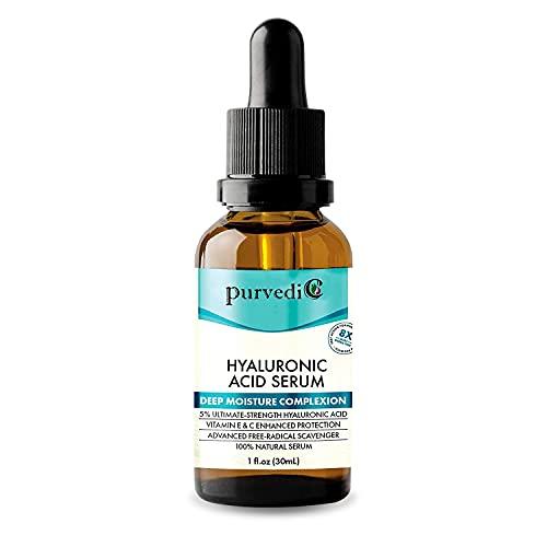 PurvedicOrganics| Pure Hyaluronic Acid Serum