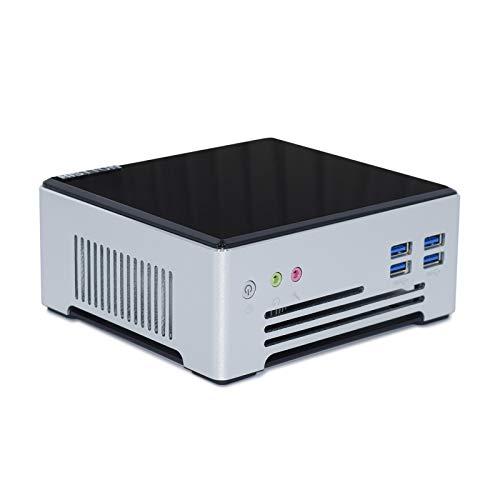 Mini PC Windows 10 Pro, HISTTON M5 16GB DDR4 256GB SSD Intel Core i7-7820HQ 4K@60Hz HD Graphics Mini Computer, HDMI/DP/USB3.0/M2 WiFi/Bluetooth 4.2