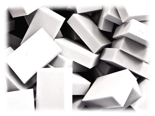 50 Stück Reinigungsschwamm, Radierschwamm, Schmutzradierer, Wunderschwamm je 11 x 7 x 3 cm