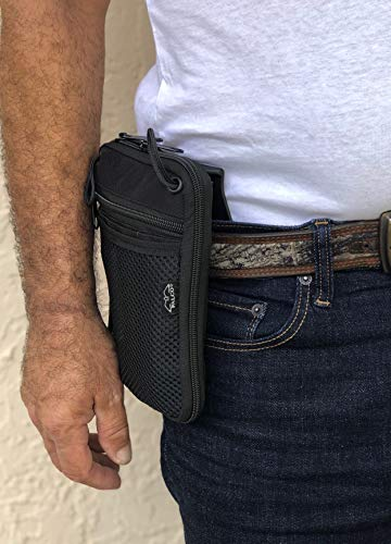 Falco Waist Pouch with Paddle for Concealed Gun Carry