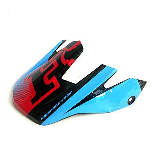 Fox Rampage Comp 09822 Visière de Rechange impériale, Noir/Bleu, One Size