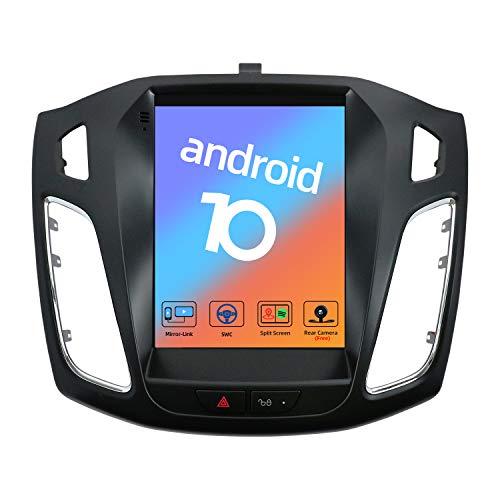 JOYX Android 10 Autoradio Per Ford Focus (2012-2017) - 9.7 pollici - Telecamera Posteriore & Canbus Gratuiti - GPS 2 Din - Supporto DAB/Bluetooth/Controllo del volante/WiFi/MirrorLink/Carplay/4G