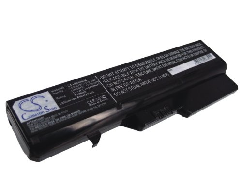 6600mAh Battery Replacement for Lenovo IdeaPad V570 IdeaPad Z570A-IFI IdeaPad Z460A IdeaPad Z560 IdeaPad Z465A-NEI 121000994 121001150 121001094 121000992 57Y6455 LO9L6Y02 L10P6F21 11.1V