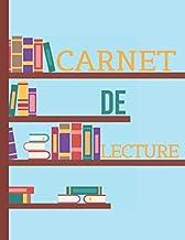 Carnet de Lecture: 📘Journal de Lecture Pour Noter vos Inspirations et Idées de Livres | 100 Pages de Lecture à Compléter pour Garder une Trace de vos ... | Idéal Collège et Lycée (French Edition)