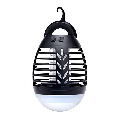 L-AN Eléctricos asesino del mosquito que acampan, luces USB portátil recargable matamoscas Bug Zapper luces de la tienda ligera, impermeable al aire libre de interior del insecto asesino for que acamp