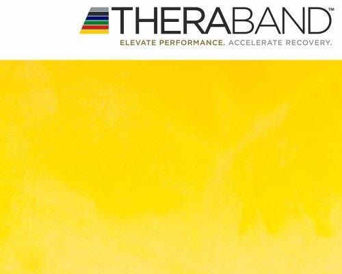 Thera-Band Original 2,5m gelb + Original 24-seitiges Übungsbuch gratis