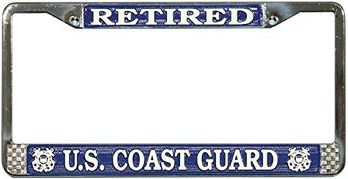 Best coast guard veteran license plate for 2020