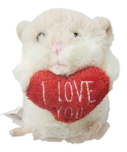 Ganz Lil Hamsters I Love You Plush Hamster ~ Two Options to Choose from (I Love You Heart Pillow)