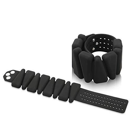 Pulsera de silicona para muñeca, tobillos/brazos, pulsera de entrenamiento de fuerza para hombre y mujer, para correr, fitness, etc