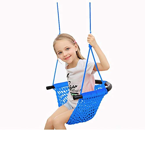 Review Of LYXCM Baby Swing Seat, Kids Heavy Duty Rope Play Secure Children Swing Set Portable Easy t...