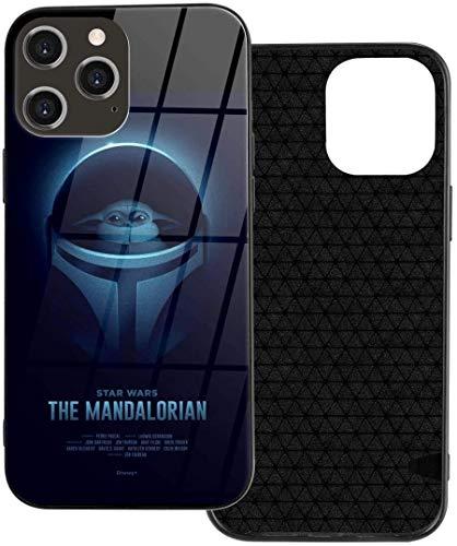 Baby Yo-da - Funda protectora a prueba de golpes para iPhone 12, 12Mini, Pro y Pro Max, diseño elegante y de plástico TPU, protector de pantalla integrado para iPhone 12mini-5.4