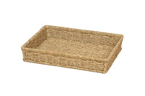 Home-ever A4 Seagrass Rectangle Tray