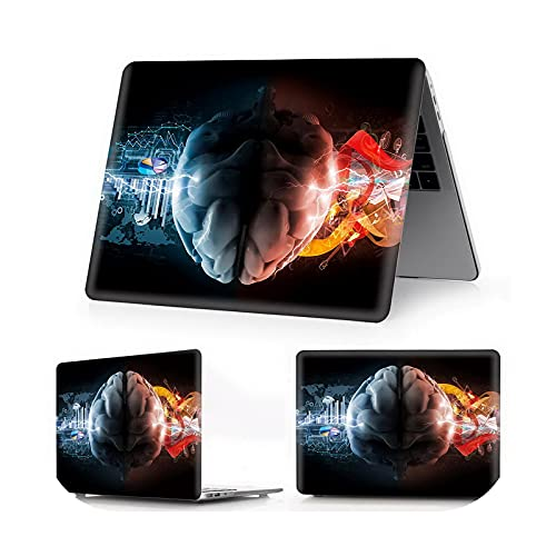 Brain Color Printing Case 2020 para MacBook Air Pro 13 15 Touch bar para MacBook Air Pro Retina 11 12 13 15 16 pulgadas Laptop Case-Xuan G Zuo You Nao-Touch Air13 ID A1932