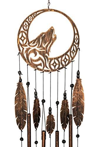 VP Home Tribal Wolf Dreamcatcher Outdoor Garden Decor...