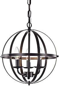 Chandelier Orb Chandelier Oil Rubbed Bronze Chandelier Lighting 3 Light Globe Chandeliers