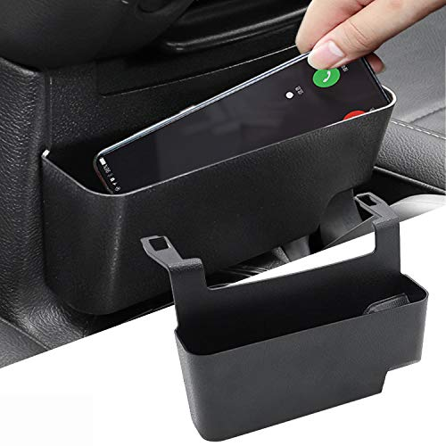 YOCTM Front Center Console Organizer Tray for Jeep Wrangler JL Armrest Storage Container Box Fits 2018-2020 2021 2022 JLU Sports Sahara Freedom Rubicon X & Unlimited