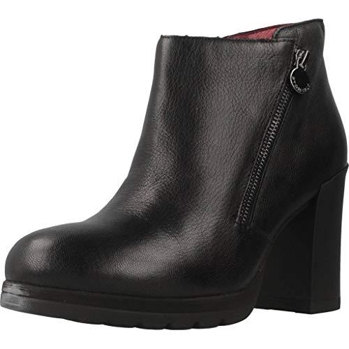 Stonefly Over 8 Tumbled Bottines Boots Femme Noir 39 EU