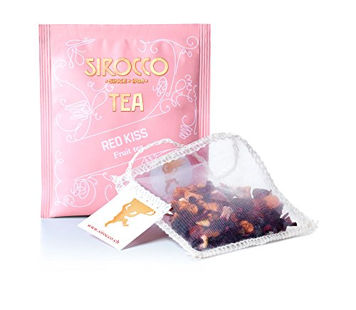 Sirocco Tee Red Kiss - Früchtetee mit feiner Spritzigkeit