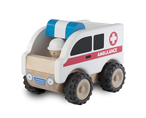 Wonderworld WW-4062 Fahrzeug Ambulanz 9 x 14 x 14 cm, multi