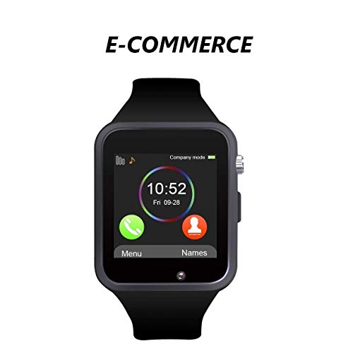 A1 Bluetooth Smart Watch Orologio Smart Phone Supporto Mappa GSM SIM per Android Samsung S5 S6 Nota 4 Nota 5 HTC Sony LG e iPhone 5 5 6 6 s più Smartphone