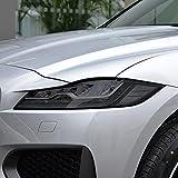 Car Headlight Protective Film Taillight Smoked Black Tint Wrap Vinyl Transparent TPU Sticker, for Jaguar F Pace X761 2017-Present