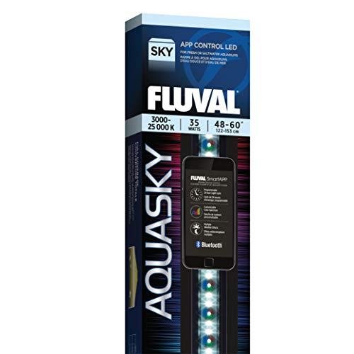 Fluval Aquasky 2.0 LED Aquarium Lighting, 35 Watts, 48-60 Inches
