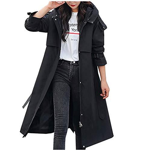 Higlles Warme Parka Winterjacke Damen Womens Winterjacke Warmer Mantel Schlanker Pelzkragen Reißverschluss Dicker Mantel Outwear