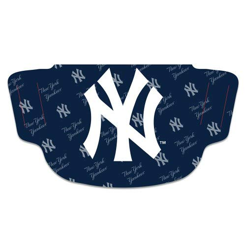 WinCraft MLB New York Yankees Unisex Fan Gear Face Mask, Team Colors, One Size